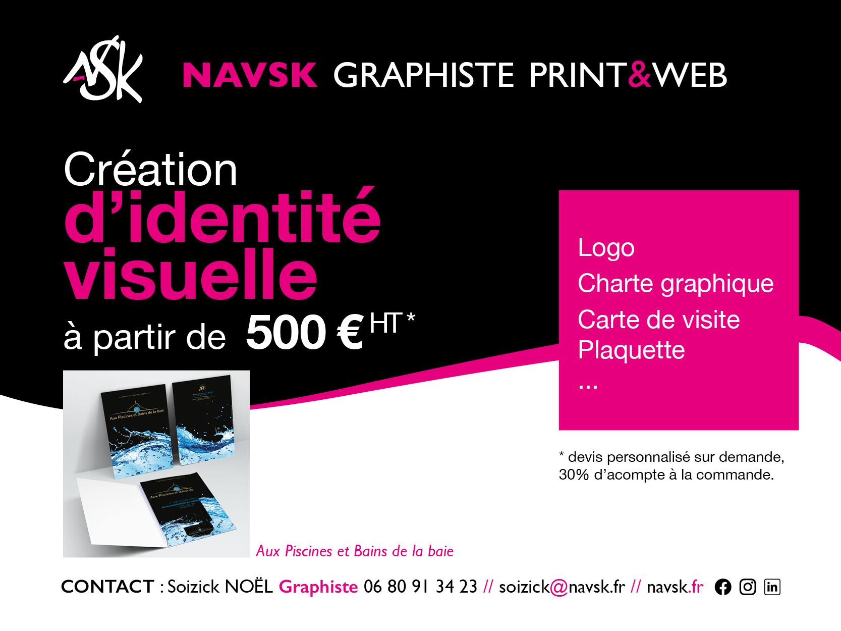 NAVSK - Création identité visuelle