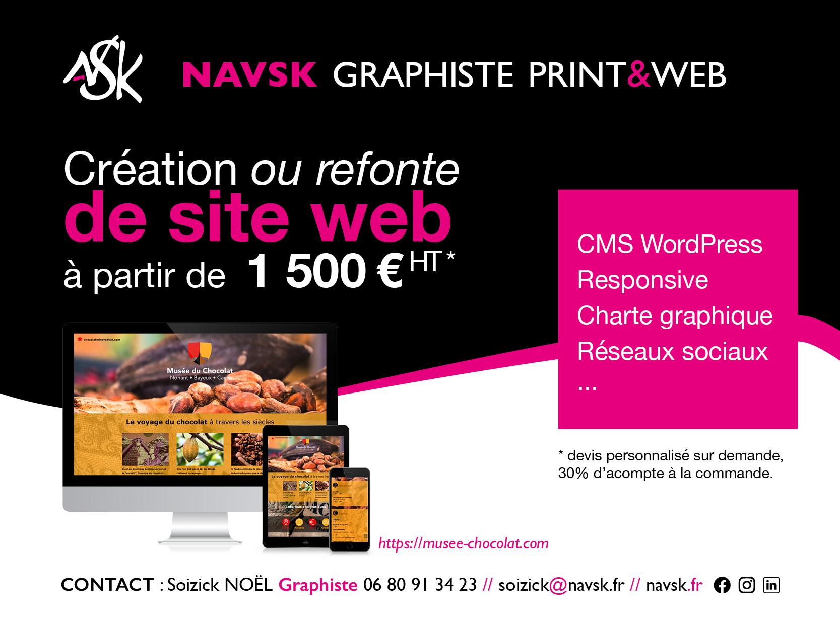 NAVSK - Création de sites web