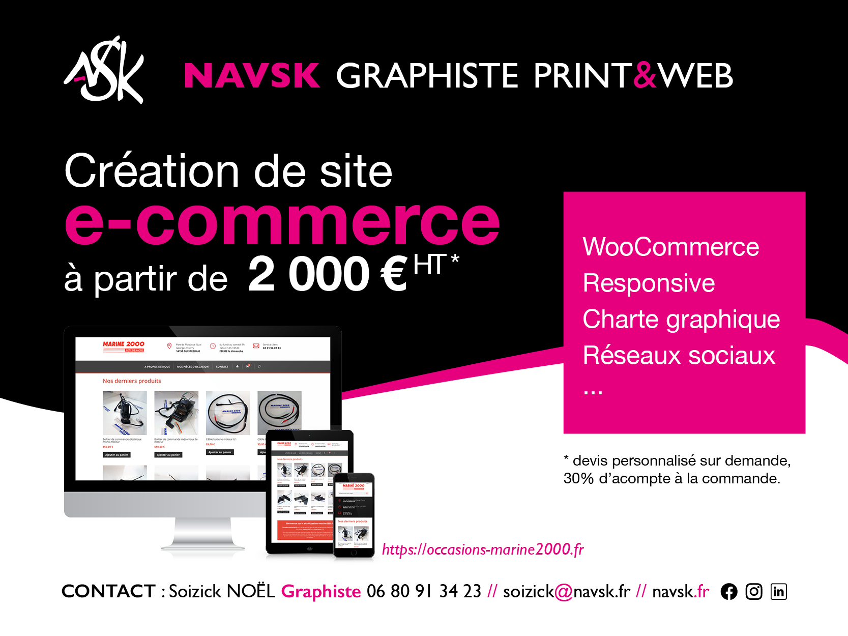 NAVSK - ecommerce