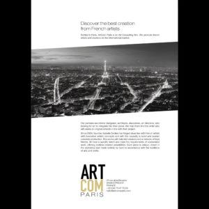 ArtCom Paris - Pochette