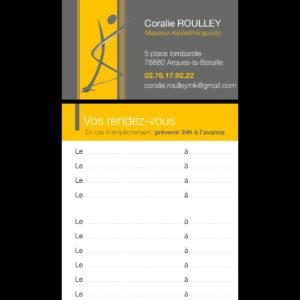 Coralie ROULLEY - Carte de RV