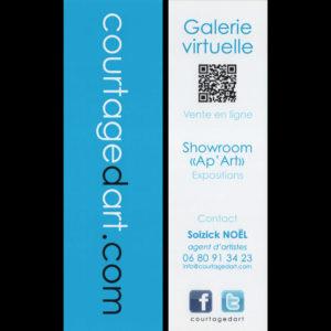 Courtagedart - Marque pages