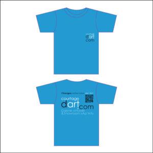 Courtagedart - T-shirt