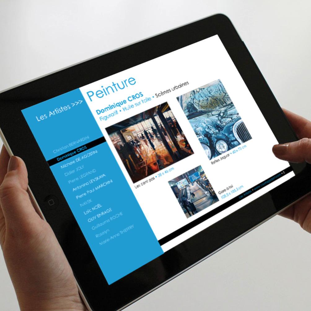 Courtagedart - iPad