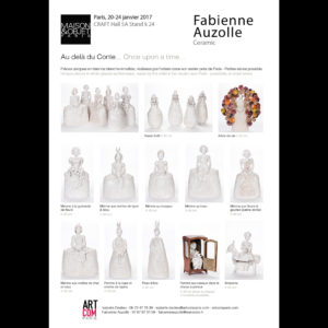 Fabienne Auzolle - Plaquette