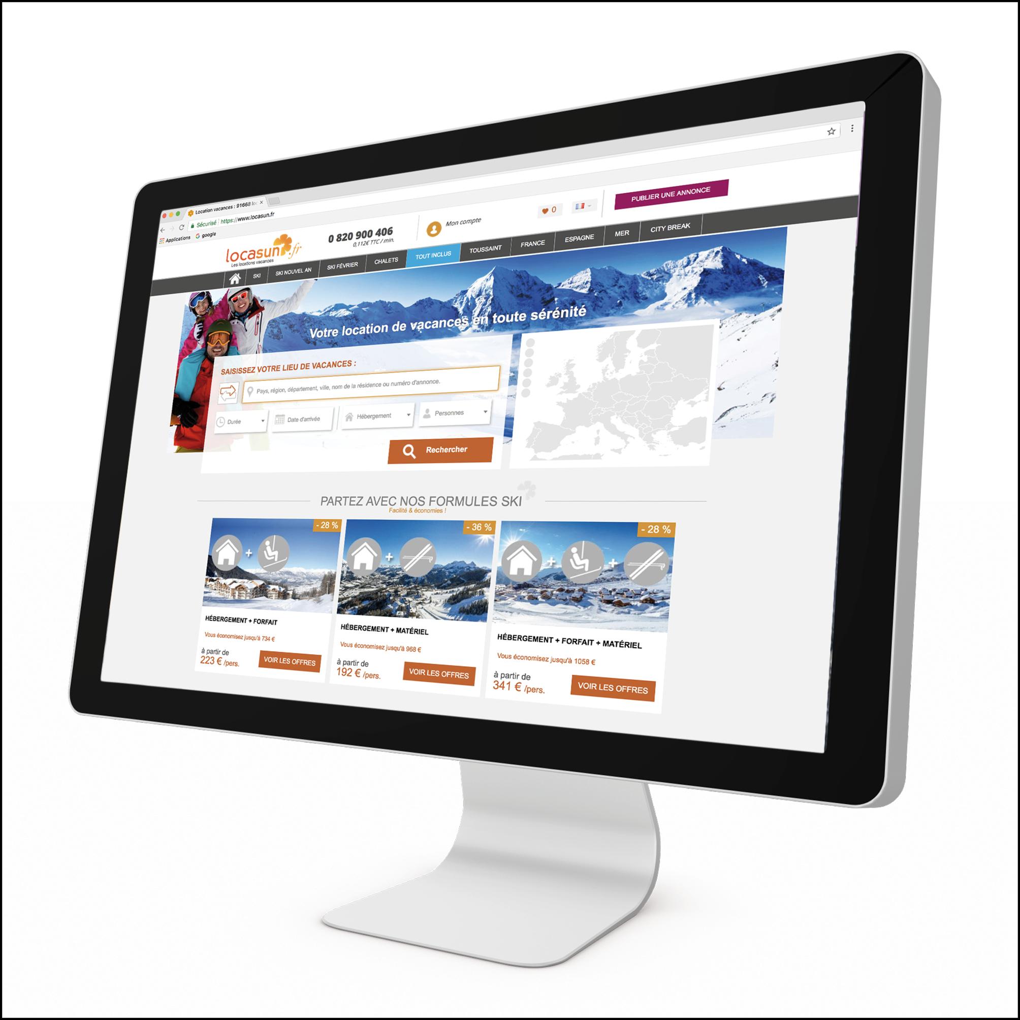 Locasun - Habillage web