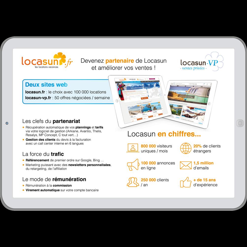 Locasun - Plaquette