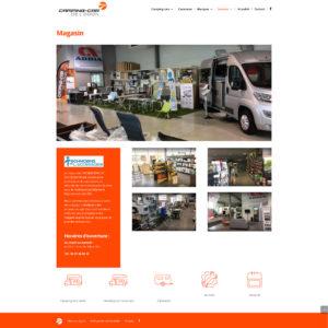 Camping-car de l'Odon - Site Web
