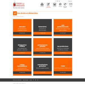 Barreau de Lisieux - Site Web