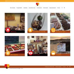 Chocolaterie du Drakkar - Site Web