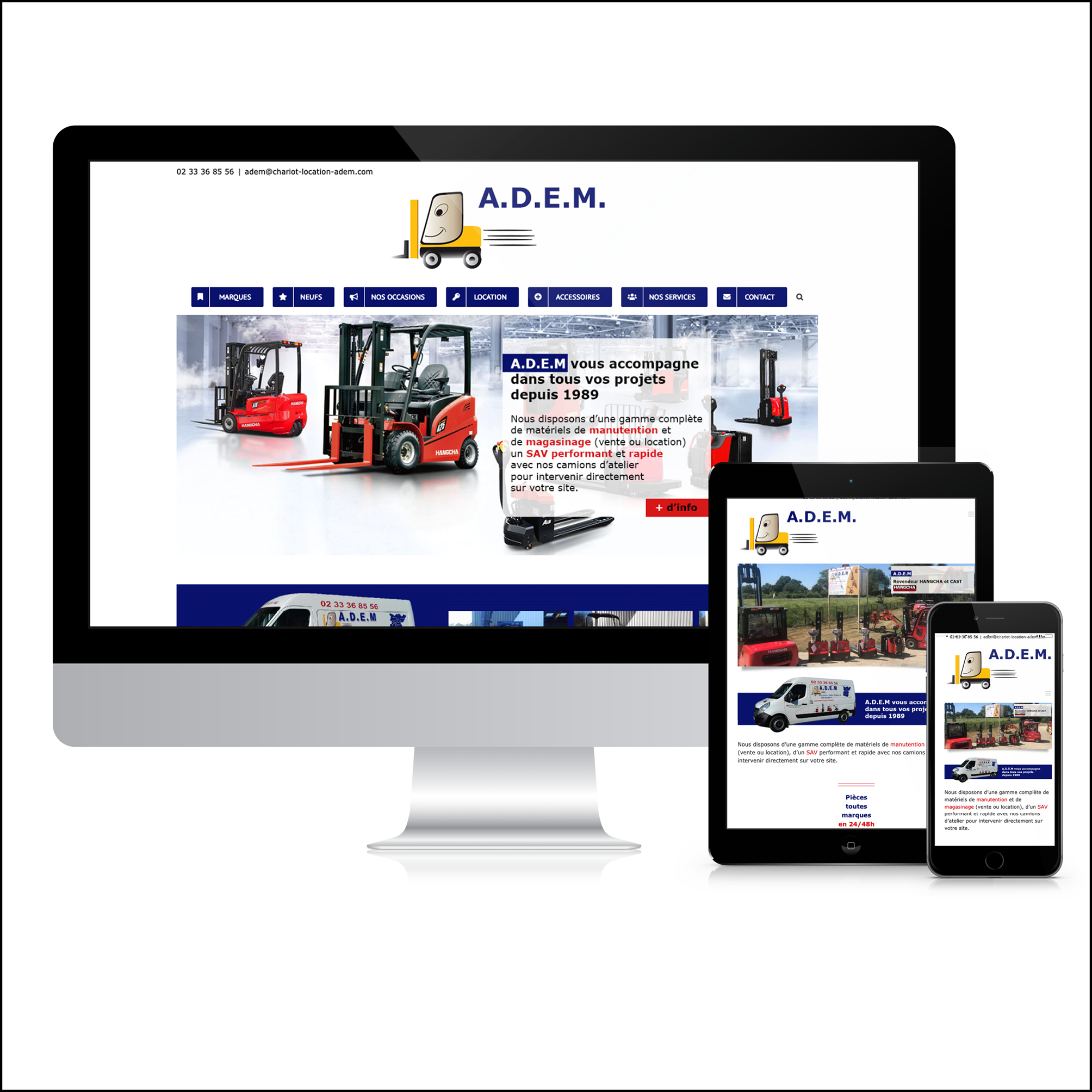 ADEM - Site Web