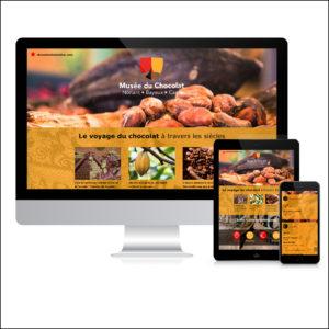 Musée du chocolat - Site Web
